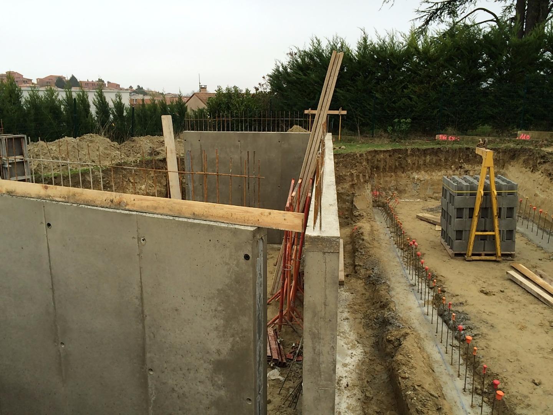 Construction d'une maison neuve  impasse de la terrasse 31500