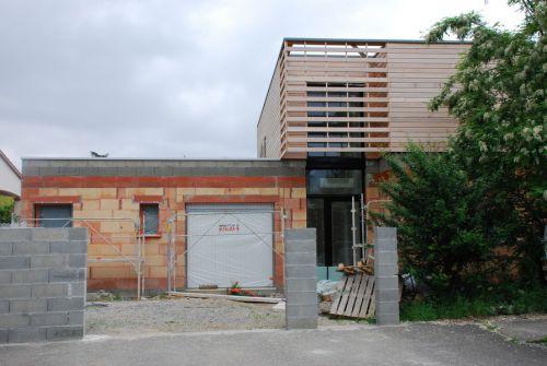 Maison contemporaine  a Lardenne